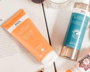 REN Skincare serum & moisturiser